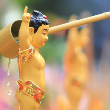 Bathing Buddha Ceremony